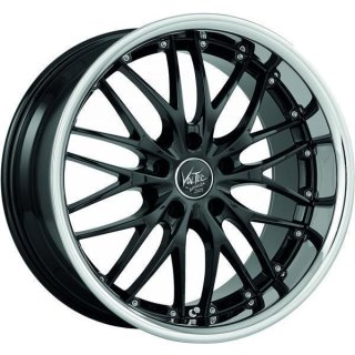 Barracuda Voltec T6 SUV 9x20 ET45 5x120 highgloss black inox lip