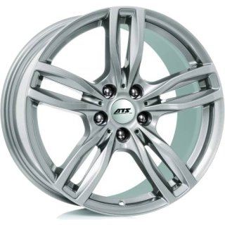 ATS Evolution 7.5x17 ET37 5x120 polar-silber
