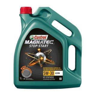 Castrol Motoröl Magnatec Stop-Start A3/B4 5W30, 5W-30 5 Liter