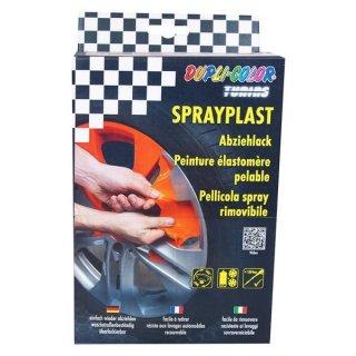 Dupli Color Abziehlack Sprayplast Sprühfolie schwarz glänzend 400ml